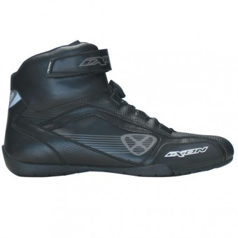 Motorcycle Shoes Ixon Assault Black