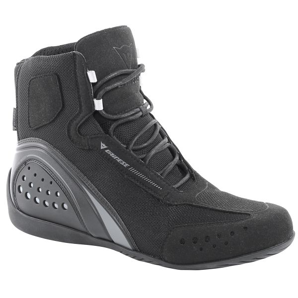 Motorcycle Shoes Dainese Motorshoe Lady D-WP Black Anthracite