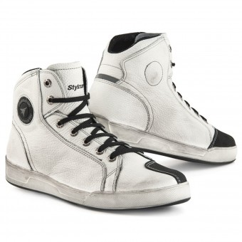 Motorcycle Shoes Stylmartin Panama White