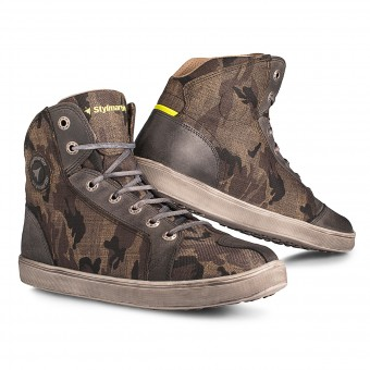 Motorcycle Shoes Stylmartin Raptor Camouflage
