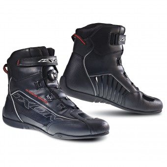 Motorcycle Shoes Ixon Reactor Black Red