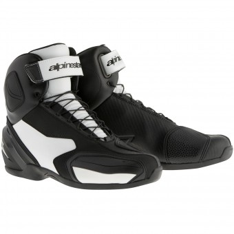 Motorcycle Shoes Alpinestars SP-1 Boot Black White