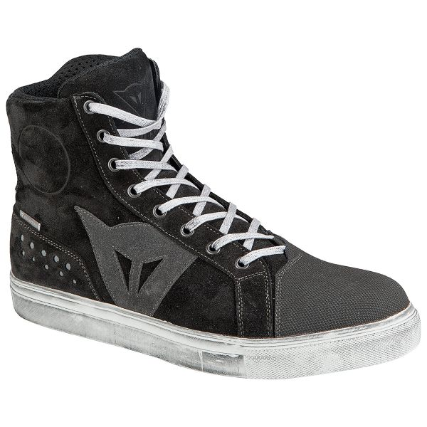 Motorcycle Shoes Dainese Street Biker D-WP Black Anthracite