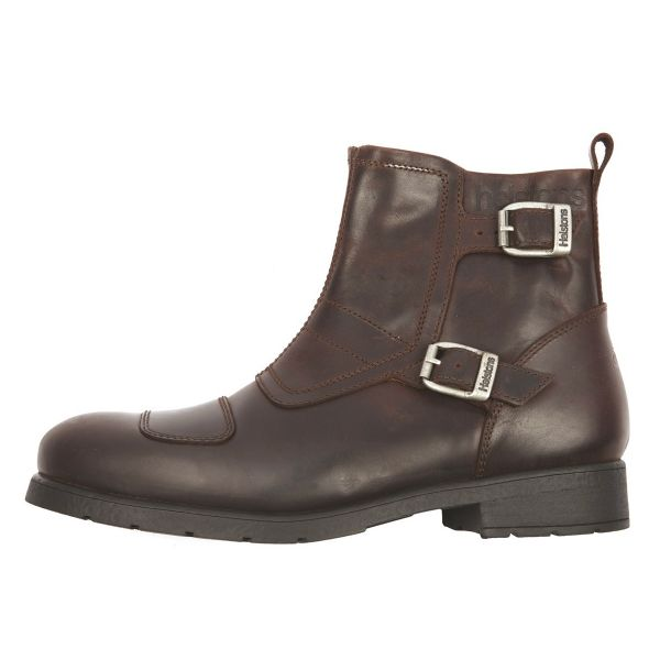 Motorcycle Shoes Helstons Trail Leather Split Brown