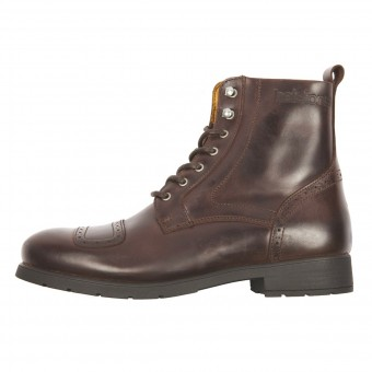 Motorcycle Shoes Helstons Travel Leather Brown