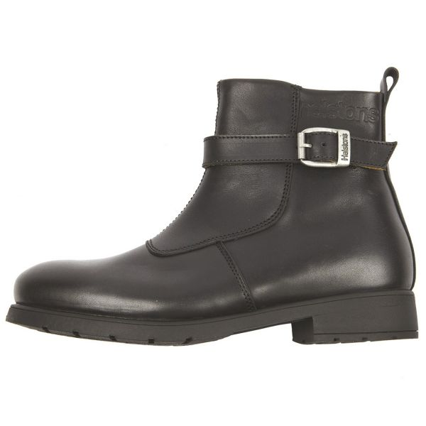 Motorcycle Shoes Helstons Urban Leather Black