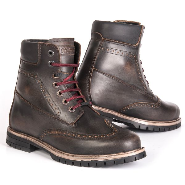 Motorcycle Shoes Stylmartin Wave Brown