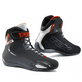 Motorcycle Shoes TCX X-Square Sport Black White