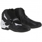 Mid-Boots Alpinestars SMX-1 R Vented Black White