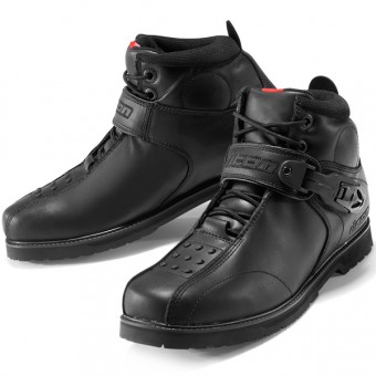 Motorcycle Shoes ICON Superduty 4 Black