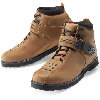 Motorcycle Shoes ICON Superduty 4 Brown
