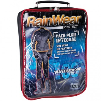 Motorcycle Rain Suit DG Rainwear Protect Pack