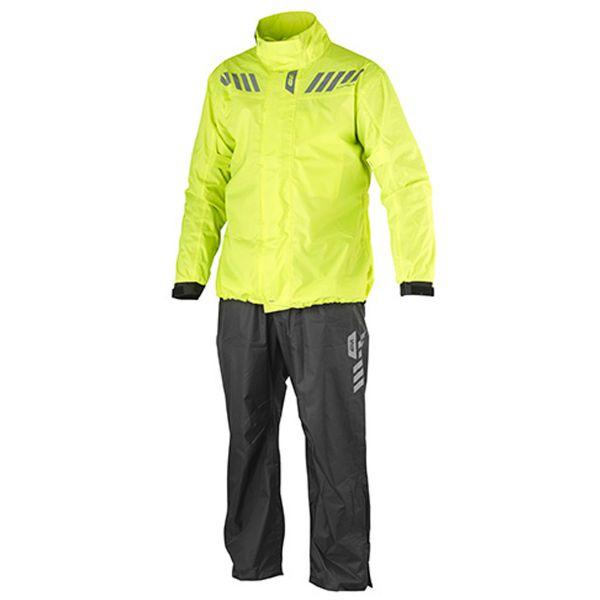 Rain Jackets & Coats Givi Waterproof Suit Comfort Fluo 8000mm at ...