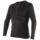 Base Layer Shirts Dainese D-Core Dry Tee LS Black Anthracite