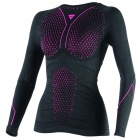 Base Layer Shirts Dainese D-Core Thermo Tee LS Lady Black Pink