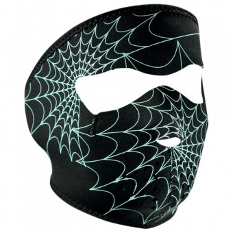 Masks Zanheadgear Spiderweb Glow In The Dark