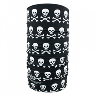 Motorcycle Neck Warmers Zanheadgear Skull Crossbones
