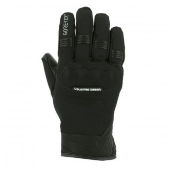 Motorcycle Gloves V'Quattro Commuter 17 2.1 Gore-Tex Black