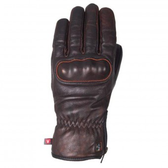 Motorcycle Gloves V'Quattro Eton Brown