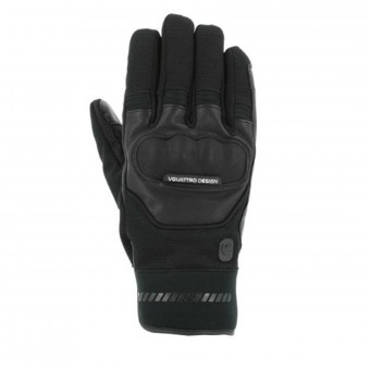 Motorcycle Gloves V'Quattro Grind 17 Black