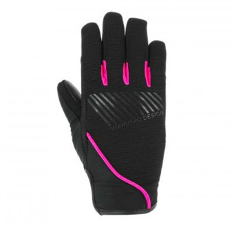 Motorcycle Gloves V'Quattro Section 17 Lady Black