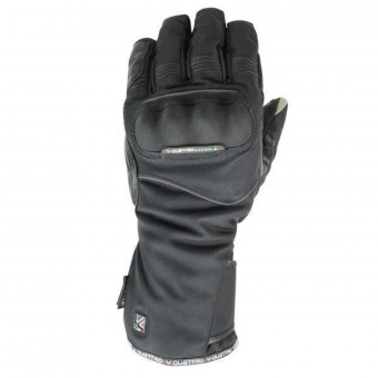 Motorcycle Gloves V'Quattro Turismo 17 Gore-Tex Reflective Black