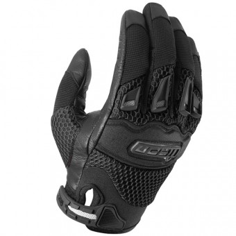 Motorcycle Gloves ICON Twenty-Niner Black