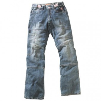 Motorcycle Trousers Ixon Oxyd Blue
