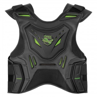 Back Protectors ICON Stryker Vest Black Green