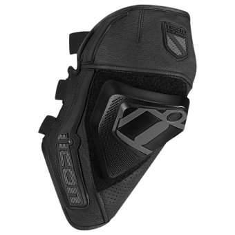 Knee Protectors ICON Cloverleaf Knee Black