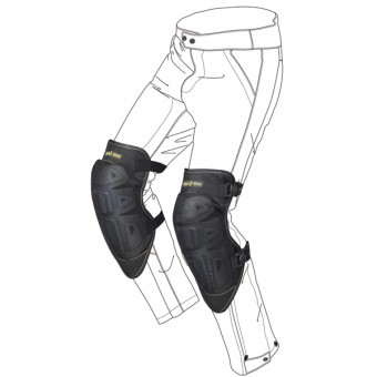 Knee Protectors Spidi K-Net Black