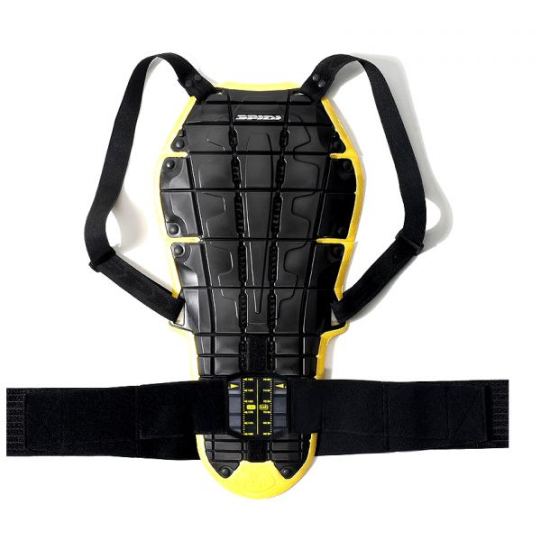 Back Protectors Spidi Back Warrior Evo Black/Yellow