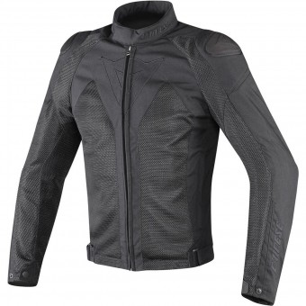 Motorcycle Jackets Dainese Hyper Flux D-Dry Black