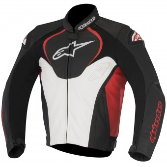 Motorcycle Jackets Alpinestars Jaws Black White Red