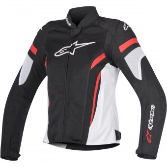 Motorcycle Jackets Alpinestars Stella T-GP Plus R V2 Air Black White Red