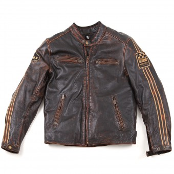 Motorcycle Jackets Helstons Ace Oldies Brown