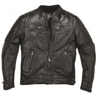 Motorcycle Jackets Helstons Cruiser Leather Rag Black