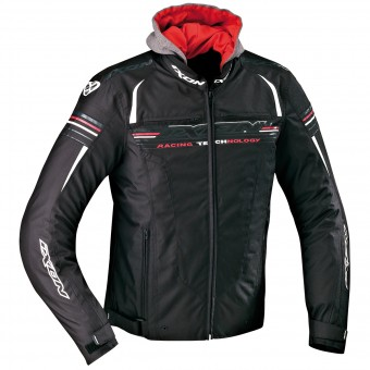 Motorcycle Jackets Ixon Dual Black White Red