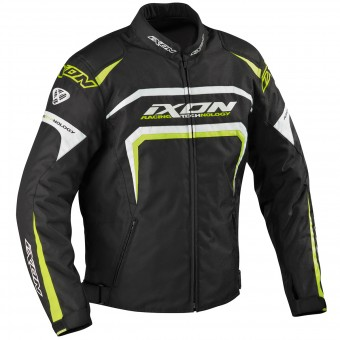 Motorcycle Jackets Ixon Eager Black White Yellow