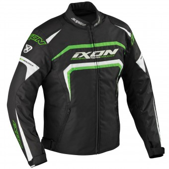 Motorcycle Jackets Ixon Eager Black White Green