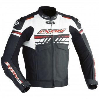 Motorcycle Jackets Ixon Exocet Black White Red