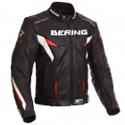 Motorcycle Jackets Bering Fizio Leather Black Red