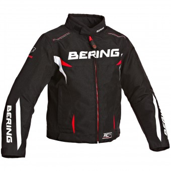 Motorcycle Jackets Bering Fizio Kid Black White Red