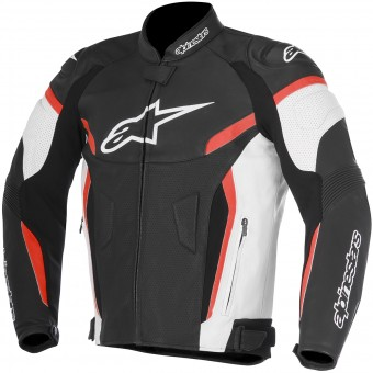 Motorcycle Jackets Alpinestars GP Plus R V2 Airflow Black White Red