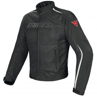 Motorcycle Jackets Dainese Hydra Flux D-Dry Black White