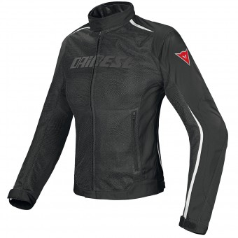 Motorcycle Jackets Dainese Hydra Flux D-Dry Lady Black