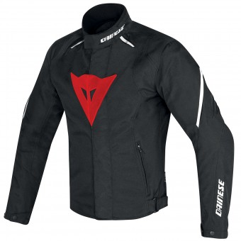 Motorcycle Jackets Dainese Laguna Seca D1 D-Dry Black Red White