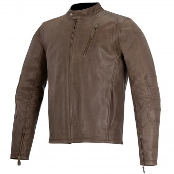 Motorcycle Jackets Alpinestars Oscar Monty Brown