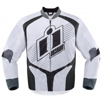 Motorcycle Jackets ICON Overlord D3O White