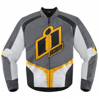 Motorcycle Jackets ICON Overlord D3O Yellow